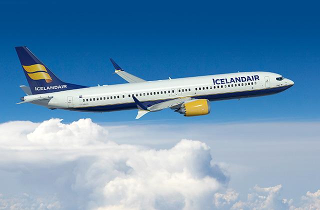 Icelandair Boeing 737 MAX 8