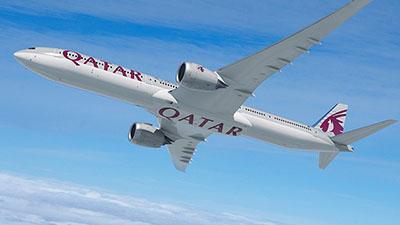 Boeing qatar airways qatar airways became a launch customer for the 777x stopboris Choice Image