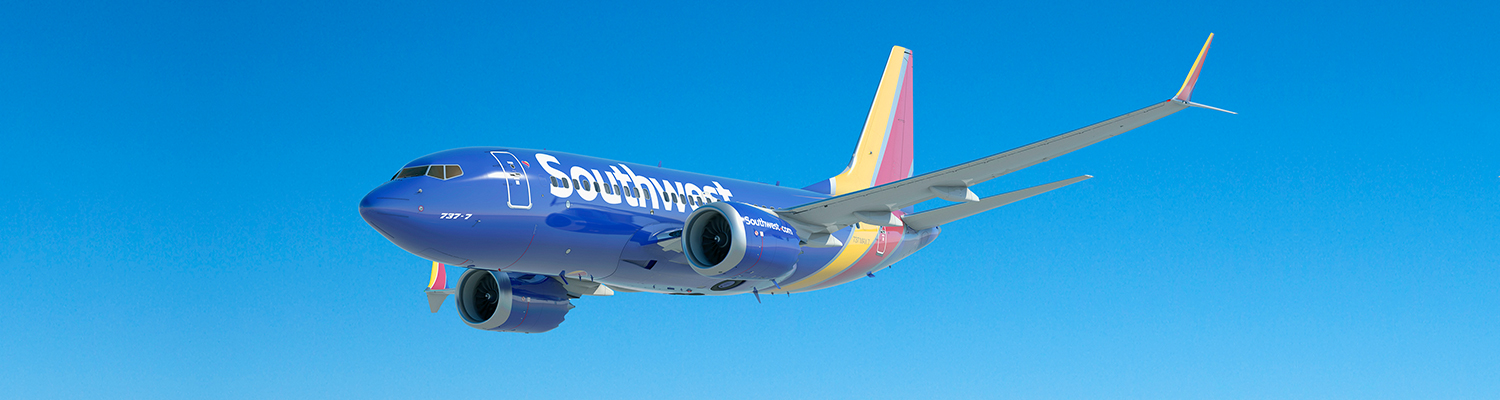 Boeing 737-7 MAX. Southwest Airlines is the launch operator of the 737-8 MAX. Boeing photo via Google images.