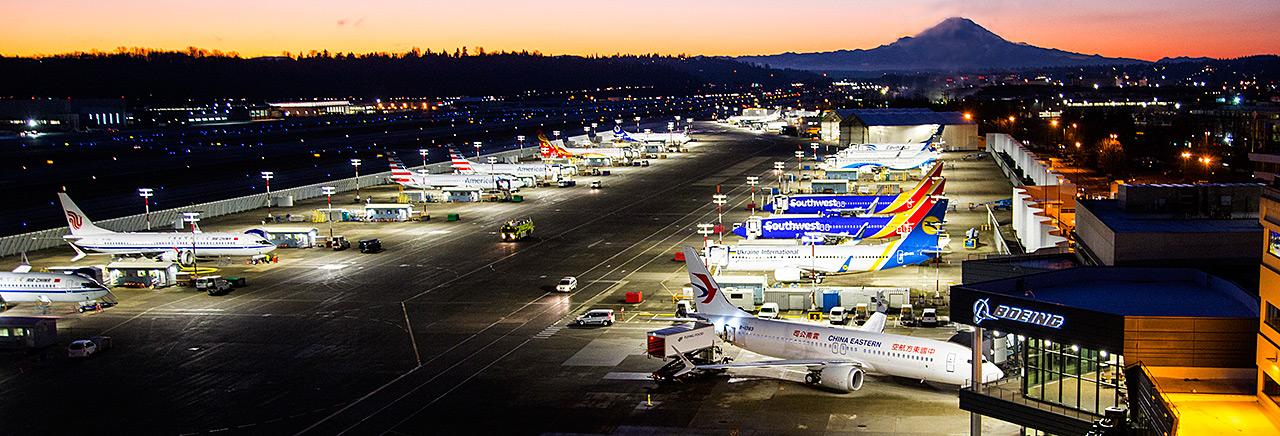Resultado de la imagen para Boeing Washington