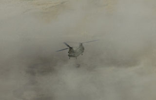 CH-47 in cloud
