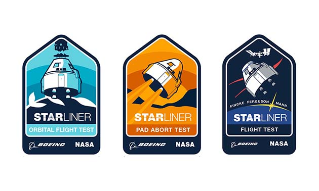 starliner patch trio