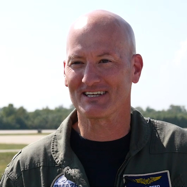 Capt. Chad Reed, the Navy's Unmanned Carrier Aviation program manager