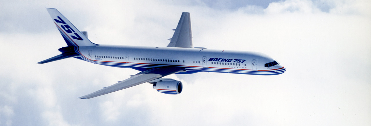 Boeing Historical Snapshot 757 Commercial Transport