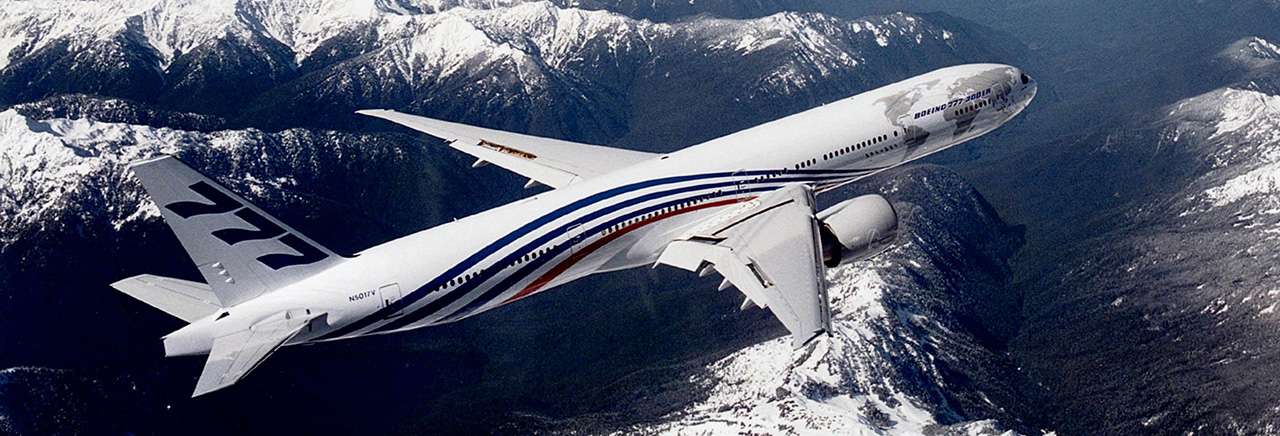 Boeing Historical Snapshot 777 Commercial Transport