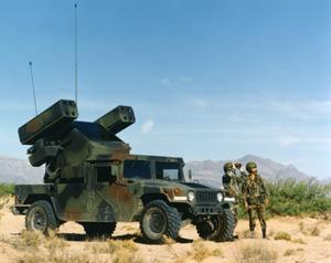 Avenger Missile Launcher