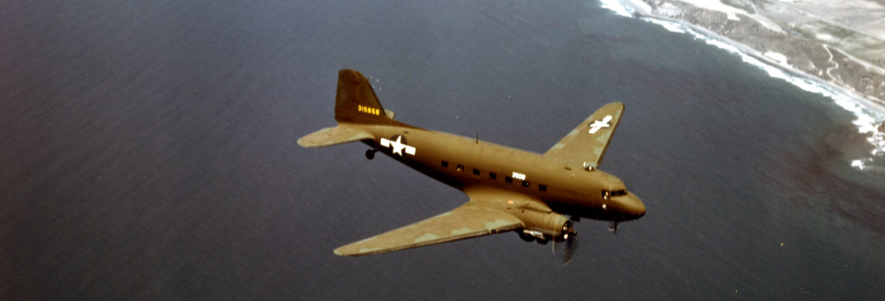C-47 Skytrain military transport