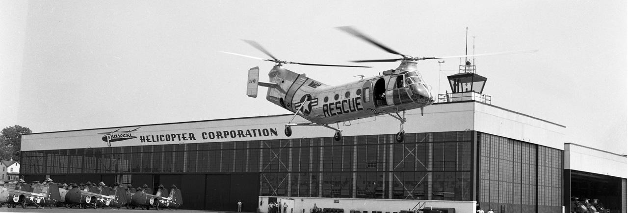 CH-21 Shawnee/Vertol 44 Helicopter