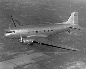 Boeing Historical Snapshot DC 3 Commercial Transport
