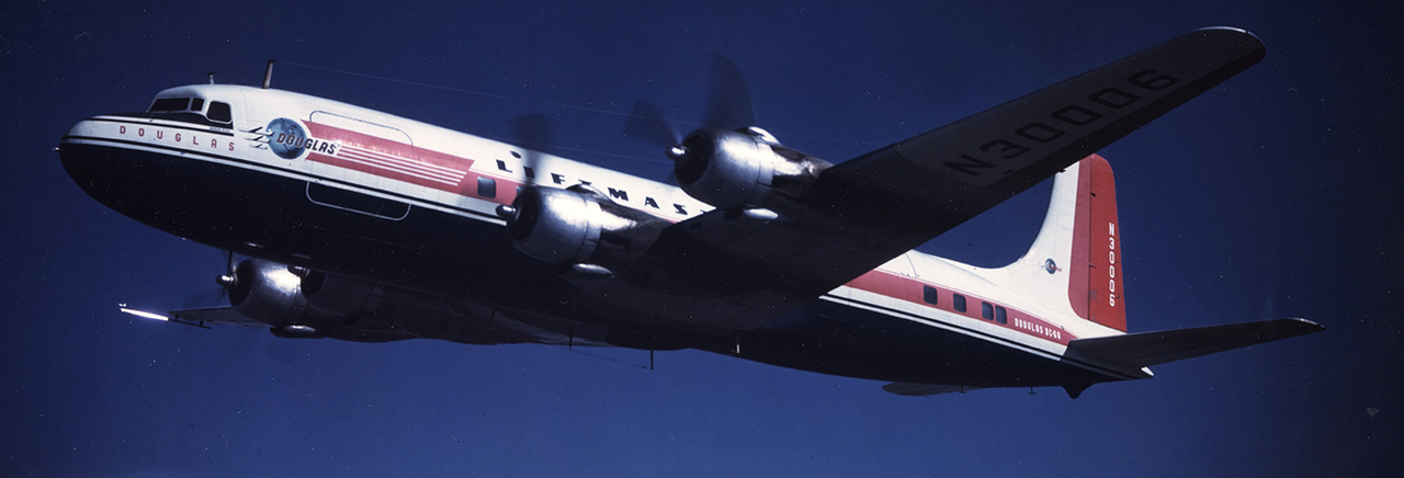 DC-6/C-118A Liftmaster Transport