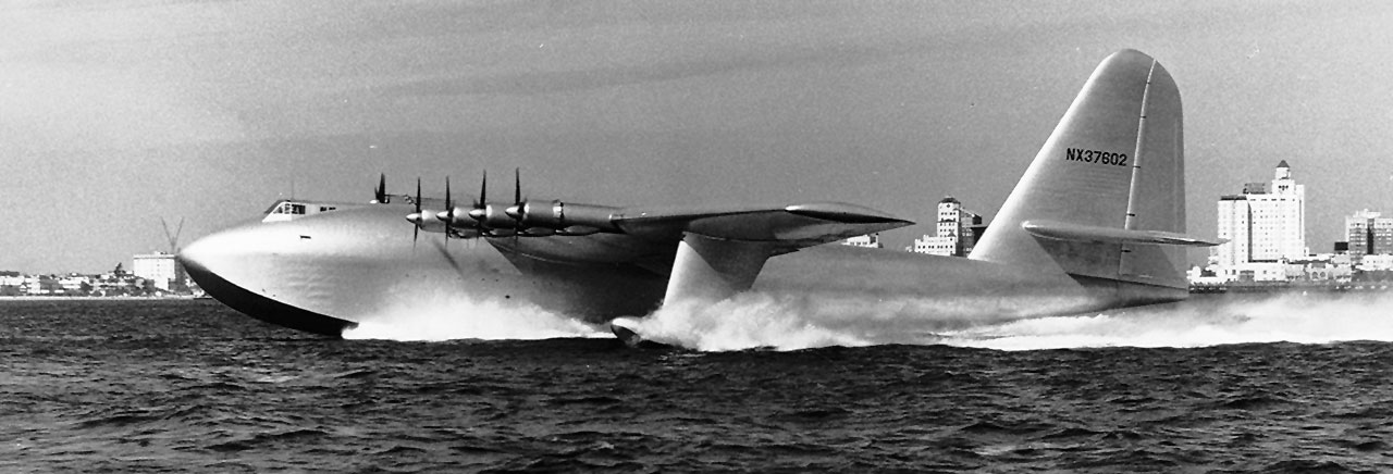 Image result for Howard Hughes - Spruce Goose