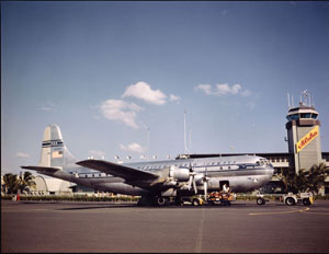 Model 377 Stratocruiser Commercial Transport