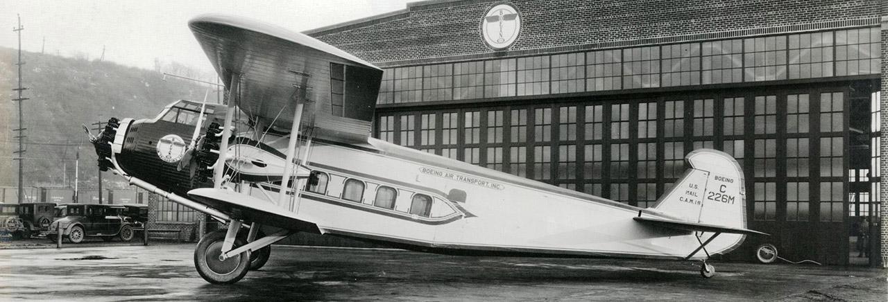 Boeing Historical Snapshots Model 80
