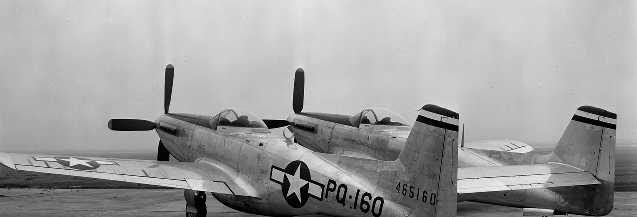 P-82 Twin Mustang Fighter