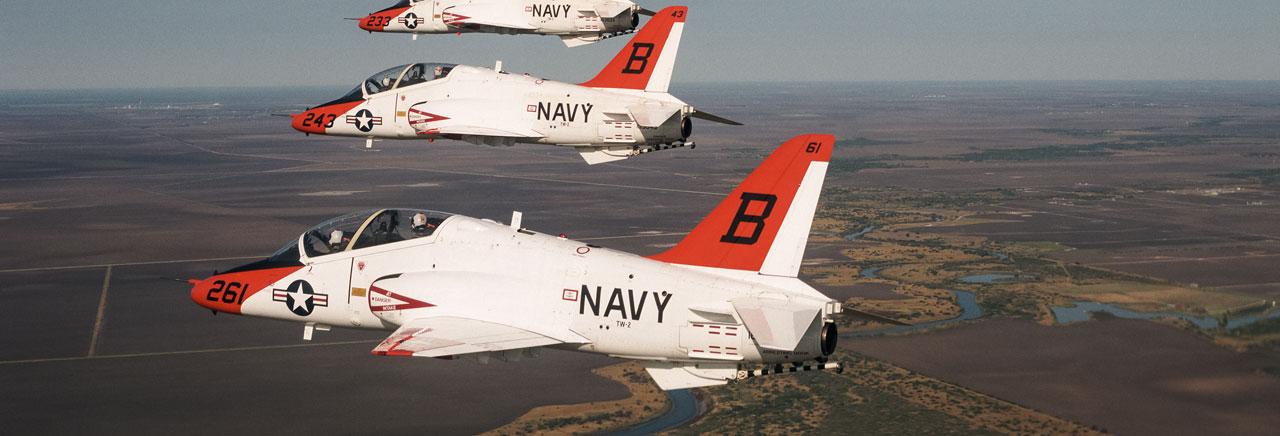 """Пилоты ВВС США отказались летать на """"самолетах-убийцах"""" T-45 Goshawk"""