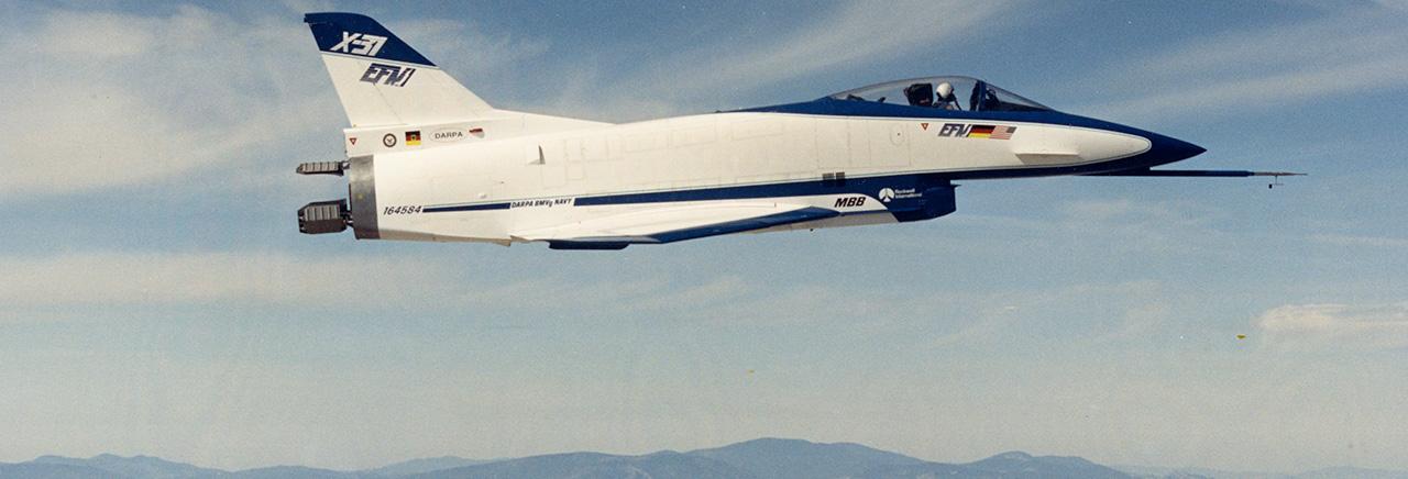 Boeing Historical Snapshot X 31 Test Aircraft
