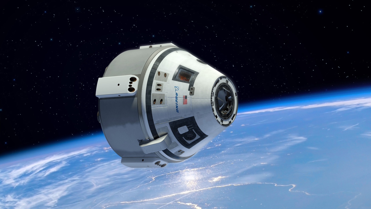 CST-100 vehicle