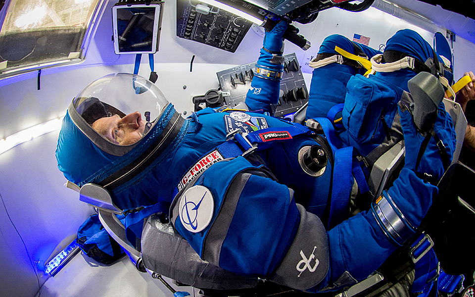Boeing Blue Starliner Space Suit